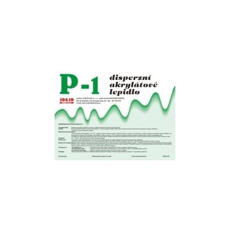 Disperzní akrylátové lepidlo P-1
